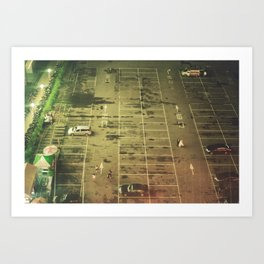 The World Below Art Print
