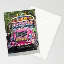 Diablo rojo bus Stationery Cards