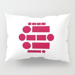 Morse Code Japan Pillow Sham