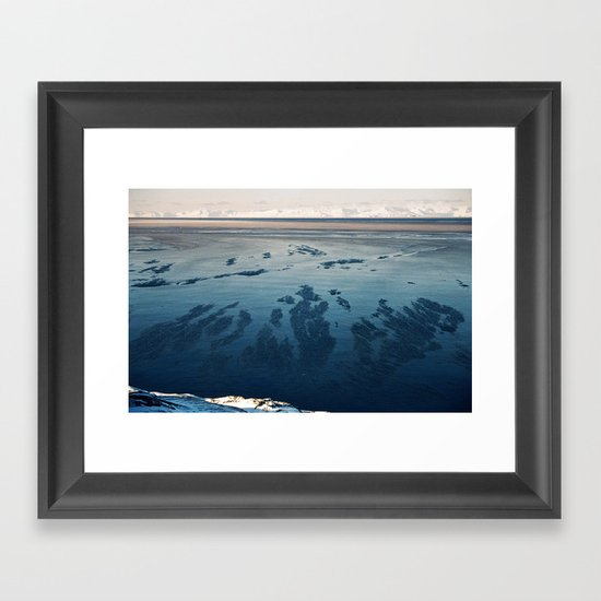 Ilulissat Greenland: The land of dog sleds and Midnight Sun Framed Art Print