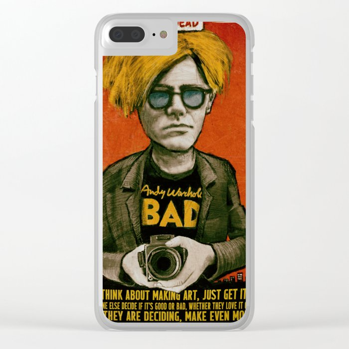 Andy Clear iPhone Case