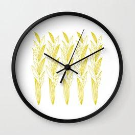 Eternity in Gold Leaf II Wall Clock