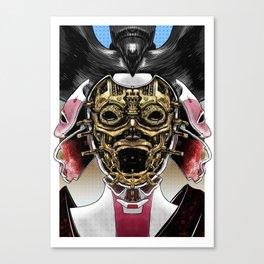 Robot Geisha V2 Canvas Print
