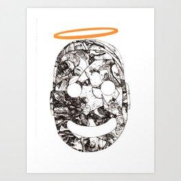 Hole-y Boy Art Print