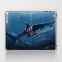 Shark in a Shirt Laptop & iPad Skin