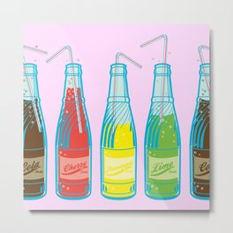 Sodapop Metal Print