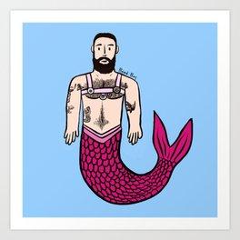 Beard Boy: Adam Merman Art Print