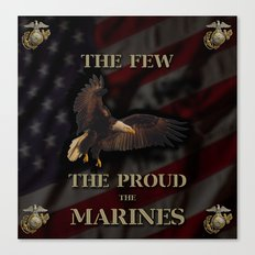 The Few The Proud Canvas Print