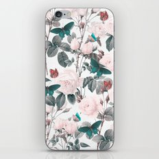 ROSES AND BUTTERFLIES iPhone & iPod Skin
