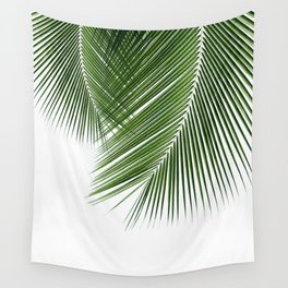 Delicate palms Wall Tapestry