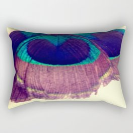Peacocking Rectangular Pillow