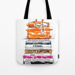 Birkin Bag and Fashion Books Tote Bag