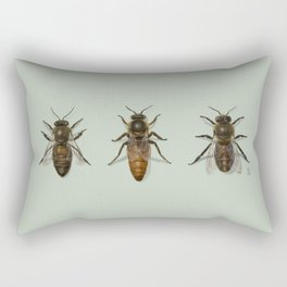 Honey Bee Family Rectangular Pillow