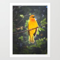 Angelic Bird Art Print
