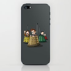 Doctor Who Bumper Cars iPhone & iPod Skin