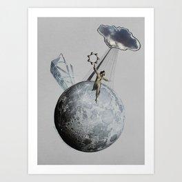Private Moon Art Print