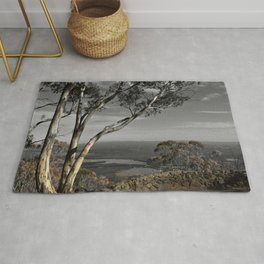 Major Mitchell Lookout Mount Macedon Rug