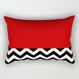 Twin Peaks Red Room Rectangular Pillow