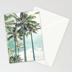 Under the palms Stationery Cards