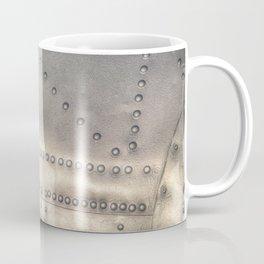 Aluminium Aircraft Skin Abstract Texture Coffee Mug