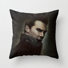 Into Darkness Throw Pillow