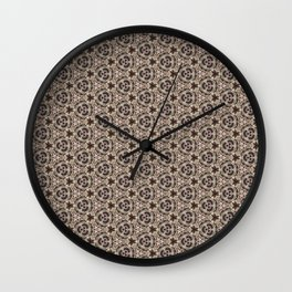 Coquillages 2 Wall Clock