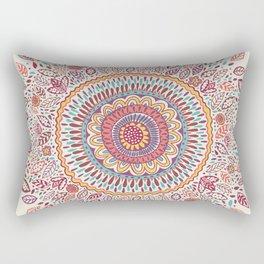 Sunflower Mandala Rectangular Pillow