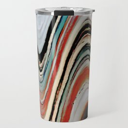Waves of Color Travel Mug