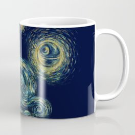 Death Starry Night Coffee Mug