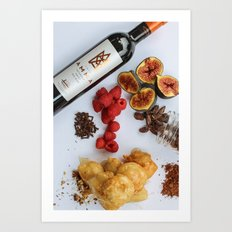 simply food Art Print