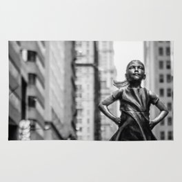 Fearless Girl New York City Rug