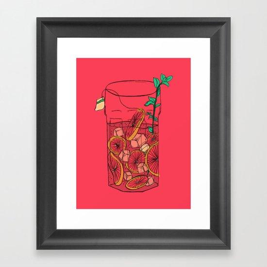 SunTea Framed Art Print