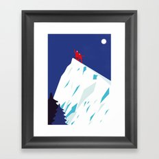 MOUNTAIN HIGH Framed Art Print