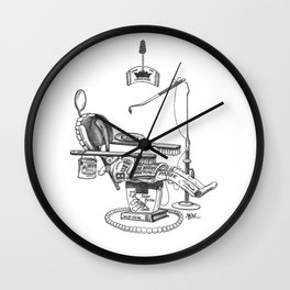 Dentist Chair Wall Clock