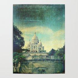Sacré-Cœur Paris Poster