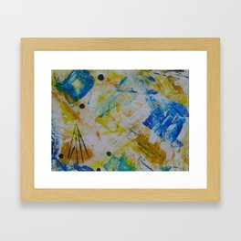 """Autumn-Blue"" II Framed Art Print"
