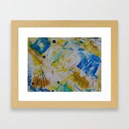 """Autumn-Blue"" II Framed Art Print"