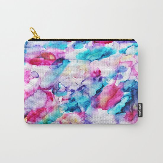 Colorful transparency || watercolor Carry-All Pouch