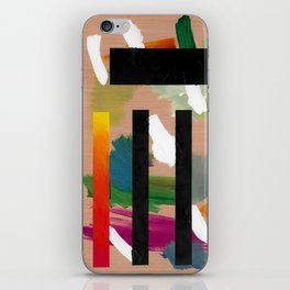 Untitled (Abstract Composition 2017018) iPhone Skin