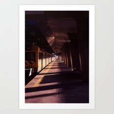 Train station Campanhã Art Print