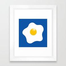 EGG tastic - the sunny side up Framed Art Print