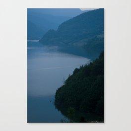 LAKE EDGE Canvas Print