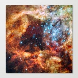 Grand Star Forming (Tarantula Nebula) Canvas Print