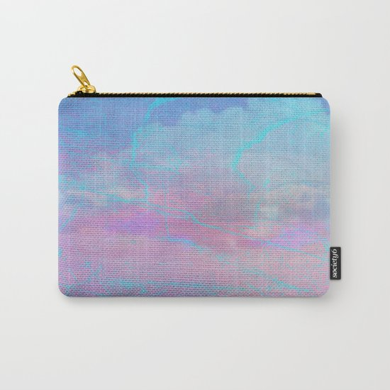 Marble Sky Abstract Carry-All Pouch