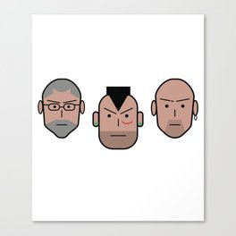 Gomorra Canvas Print