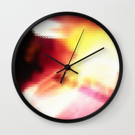 Distortion Elongated Wall Clock