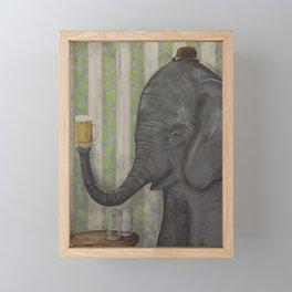 Forget You Not Framed Mini Art Print