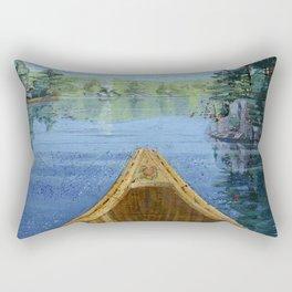 canoe bow Rectangular Pillow