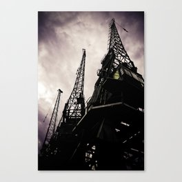 Industrial Action Canvas Print