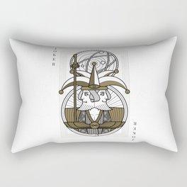 Omnia Illumina male Joker - janus Rectangular Pillow